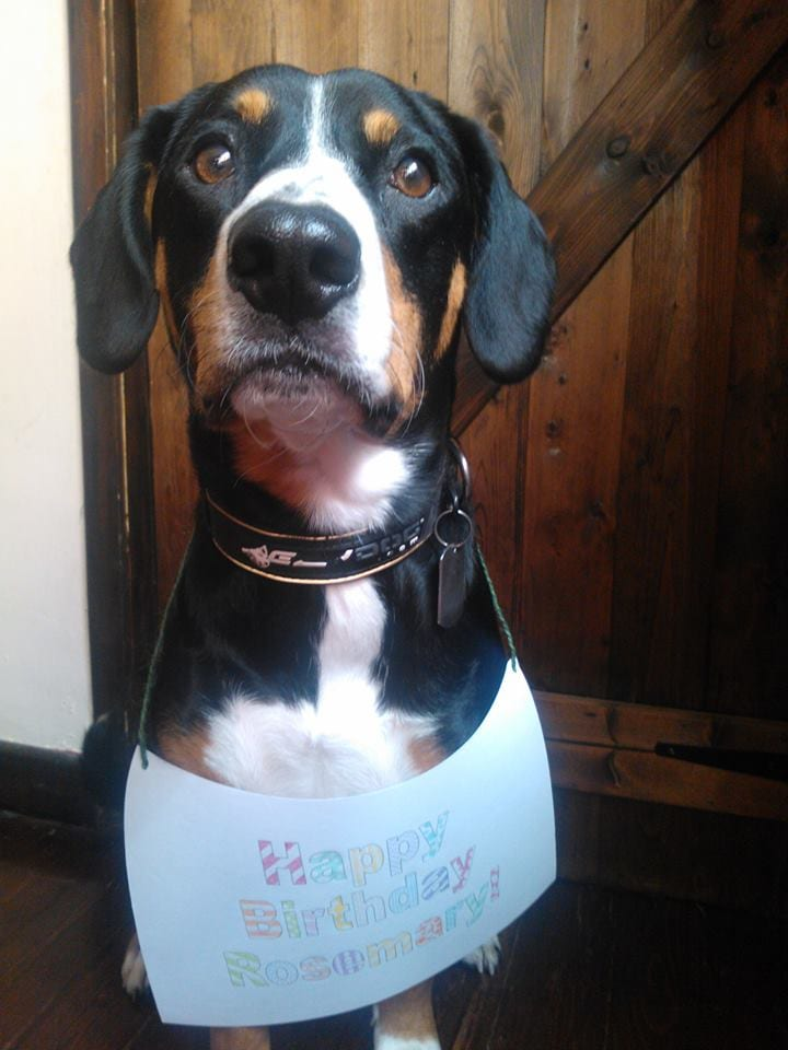 Tucker sends birthday greetings